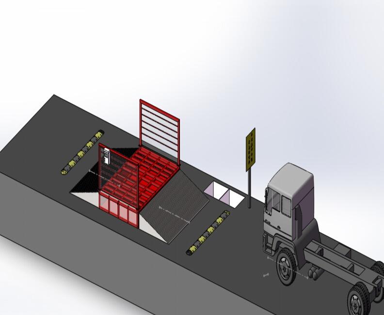 智能车轮清洗(降chen)系统